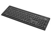 Image de Fujitsu KB410 clavier USB QWERTZ Allemand Noir (S26381-K511-L420)