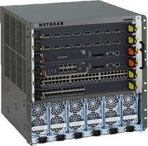 Image de Netgear châssis de réseaux (XCM8806FT-10000S)