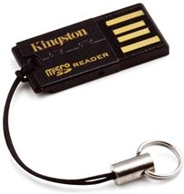 Image de Kingston Technology USB 2.0 Noir lecteur de carte mémoire (FCR-MRG2)