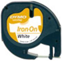 Image de DYMO 12mm LetraTAG Iron-on ruban d'étiquette (S0718850)