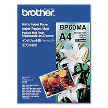 Image de Brother Inkjet Paper A4 (210×297 mm) Mat Blanc papier jet d'e ... (BP60MA)