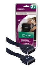 Image de Eminent Scart Cable 3m 3m SCART (21-pin) SCART (21-pin) Noir C ... (EM9901)