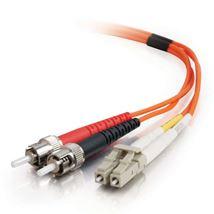 Image de C2G 1m LC ST Orange câble de fibre optique (85492)