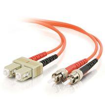Image de C2G 2m SC ST Orange câble de fibre optique (85481)