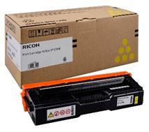 Image de Ricoh 1600pages Jaune cartouche toner et laser (407546)