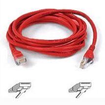 Image de Belkin Patch cable - RJ-45(M) - RJ-45(M) - 1m ( CAT 5e ... (A3L791B01M-RED)