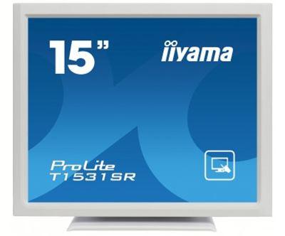 """Image sur iiyama ProLite 15"""" 1024 x 768pixels Plusieurs pressions D ... (T1531SR-W3)"""