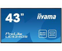 "Image de iiyama ProLite 109,2 cm (43"") LED Full HD Digital signage ... (LE4340S-B1)"
