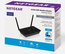 Image de Netgear D1500 Fast Ethernet routeur sans fil (D1500-100PES)