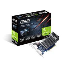 Image de ASUS 710-2-SL-BRK GeForce GT 710 2Go GDDR3 (90YV0943-M0NA00)