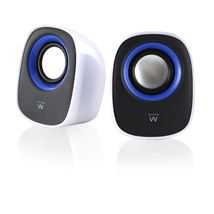 Image de Ewent haut-parleur 1-voie 5 W Noir, Bleu, Blanc Avec fil (EW3513)