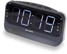 Image de Salora réveille-matin Digital alarm clock Noir, Gris, Blanc (CR616)