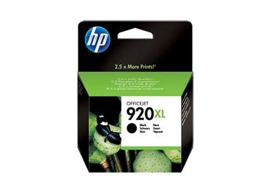 Image sur HP 920XL cartouche d'encre noir grande capacité authentique (CD975AE)