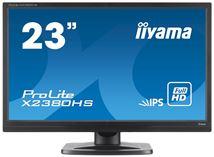 """Image de iiyama ProLite X2380HS 23"""" Full HD IPS Mat Noir Plat écran ... (X2380HS-B1)"""