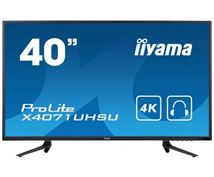 "Image de iiyama ProLite 39.5"" 4K Ultra HD MVA Mat Noir Plat écra ... (X4071UHSU-B1)"
