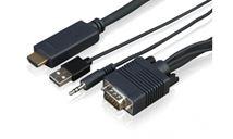 Image de Sony adaptateur et connecteur de câbles VGA/3.5 mm HDMI ... (CAB-VGAHDMI1)