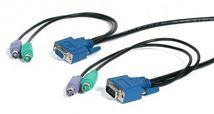 Image de Newstar 7.5m Noir câble kvm (PS23N1THIN25)