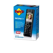 Image de AVM FRITZ!Fon C5 International Téléphone DECT Noir Identific ... (20002749)