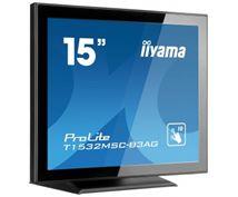 "Image de iiyama ProLite 15"" 1024 x 768pixels Plusieurs pression ... (T1532MSC-B3AG)"