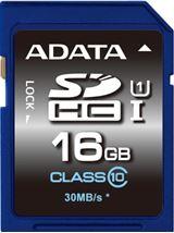 Image de ADATA Premier SDHC UHS-I U1 Class10 16GB 16GB SDHC Cl ... (ASDH16GUICL10-R)