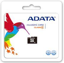 Image de ADATA 32GB MicroSDHC 32Go MicroSDHC mémoire flash (AUSDH32GCL4-RA1)