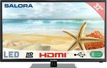 """Image de Salora 1500 series 32"""" HD Noir écran LED (32LED1500)"""