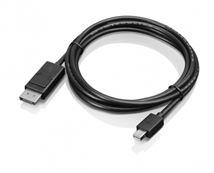 Image de Lenovo câble DisplayPort mini DisplayPort Noir (0B47091)