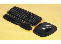 Image de Kensington Repose-poignets en gel pour clavier coloris noir (62385)