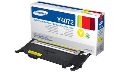 Image sur Samsung Laser cartridge 1000pages Jaune cartouche toner e ... (CLT-Y4072S)