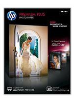 Image de HP Papier photo à finition brillante Premium Plus - 20 feuille ... (CR676A)