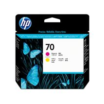 Image de HP 70 DesignJet magenta et jaune (C9406A)
