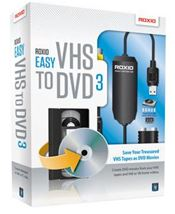 Image de Corel Easy VHS to DVD 3, Win, ML (253000EU)