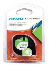 Image de DYMO 12mm LetraTAG Paper tape ruban d'étiquette (S0721510)