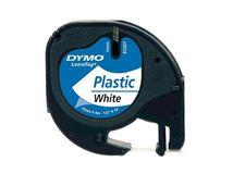 Image de DYMO 12mm LetraTAG Plastic tape ruban d'étiquette (S0721610)