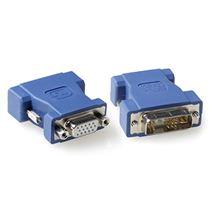 Image de Ewent DVI-A VGA Bleu adaptateur et connecteur de câbles (EW9850)