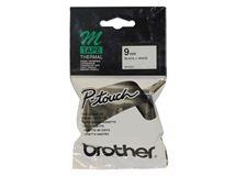 Image de Brother ruban d'étiquette Noir sur blanc M (MK221)