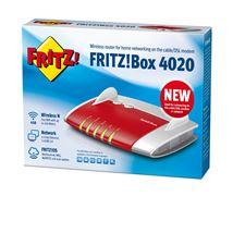 Image de AVM FRITZ!Box 4020 Fast Ethernet 3G 4G Rouge routeur sans fi ... (20002744)
