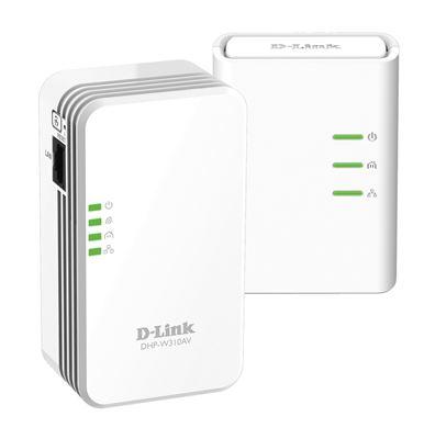 Image sur D-Link PowerLine AV 500 Ethernet/WLAN 500 Mbit/s (DHP-W311AV)