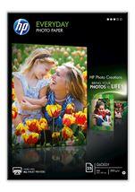 Image de HP papier photos Noir, Bleu, Blanc Semi brillant A4 (Q5451A)