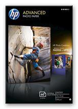 Image de HP Papier photo Advanced brillant sans bordure - 60 feuilles/1 ... (Q8008A)