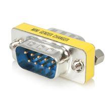 Image de StarTech.com Changeur de genre série DB9 slim - Coupleur DB9 - ... (GC9SM)