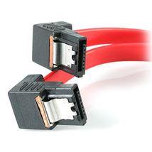 "Image de StarTech.com 18"" Latching SATA Cable M/M 2 Right Angle Rou ... (LSATA18RA2)"