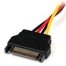 Image de StarTech.com Adaptateur de câble d'alimentation SATA 15 ... (LP4SATAFM6IN)