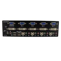 Image de StarTech.com Commutateur KVM USB et double écran DVI / VG ... (SV431DDVDUA)