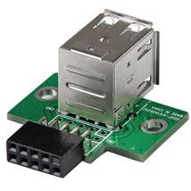Image de StarTech.com Adaptateur USB 2.0 interne - 2x USB A vers c ... (USBMBADAPT2)