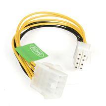 Image de StarTech.com 8in EPS 8 Pin Power Cable 0.2m Jaune câble élect ... (EPS8EXT)
