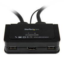 Image de StarTech.com Switch Commutateur KVM 2 Ports USB, HDMI avec ... (SV211HDUA)