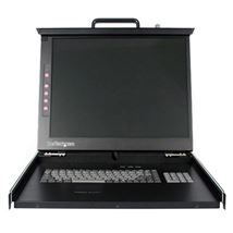 "Image de StarTech.com 1U DuraView 19"" Folding LCD Rack Console co ... (RKCONS1901GB)"