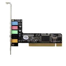 Image de StarTech.com Carte son PCI 5 canaux - Carte audio PCI po ... (PCISOUND5CH2)
