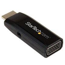 Image de StarTech.com Adaptateur vidéo compact HDMI vers VGA avec ... (HD2VGAMICRA)